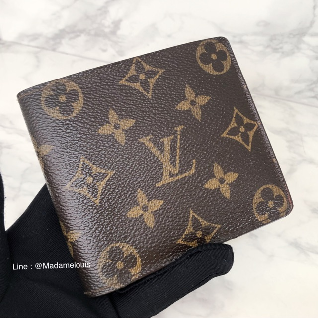 👜LV Wallet monogram  กระเป๋าสตางค์หลุยส์แท้มือสอง