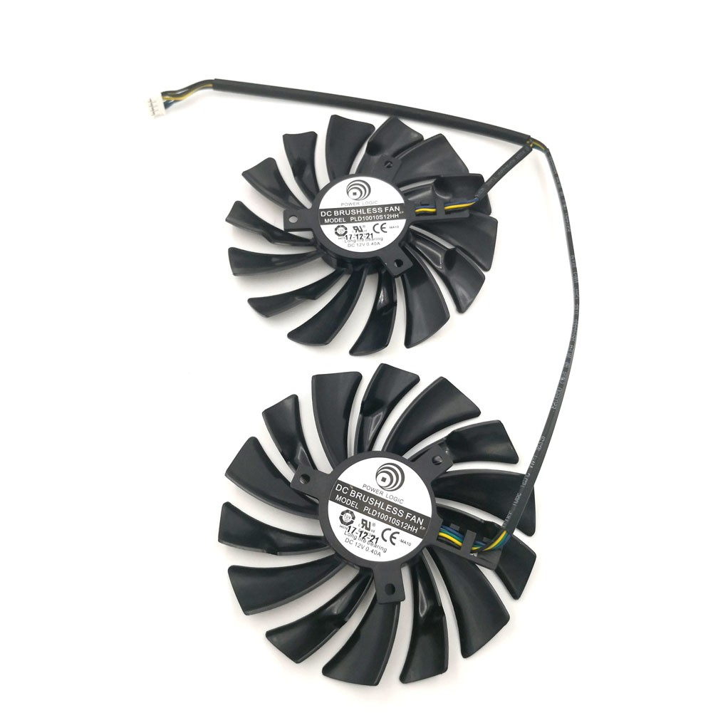 95mm PLD10010S12HH Cooler fan For MSI GTX 960 GTX 970 GAMING GTX 950 1060 RX 470