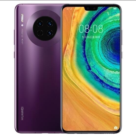 ✤✕❀Huawei Huawei mate30pro5G รุ่น Mate 30 5G Kirin 990 สมาร์ทโฟน 40 ล้านหน้าจอโค้ง