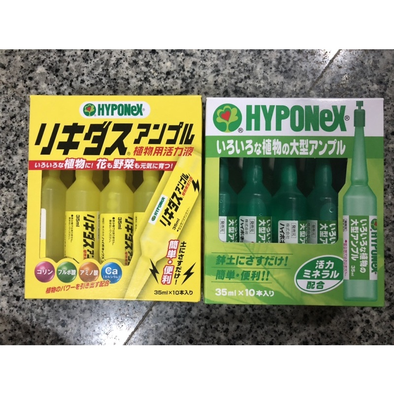 Hyponex Ampoule ปุ๋ยสูตรน้ำบำรุง