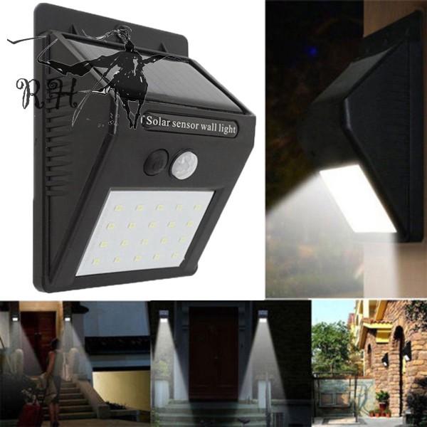 20 Led Solar Lights Senstive Pir Motion, Wireless Outdoor Lights With Sensors