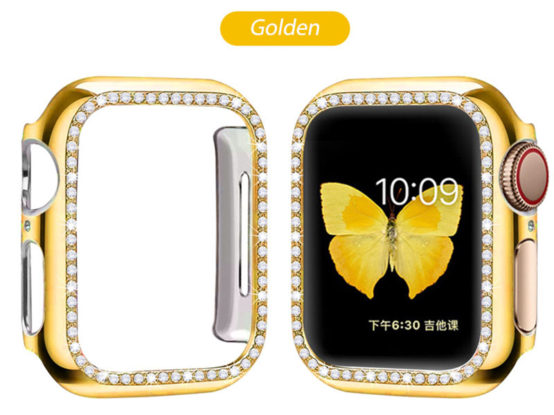 iWatch Diamond Case Apple Watch Series 5/4/3/2/1 38mm 40mm 42mm 44mm Luxurious Protective Cover