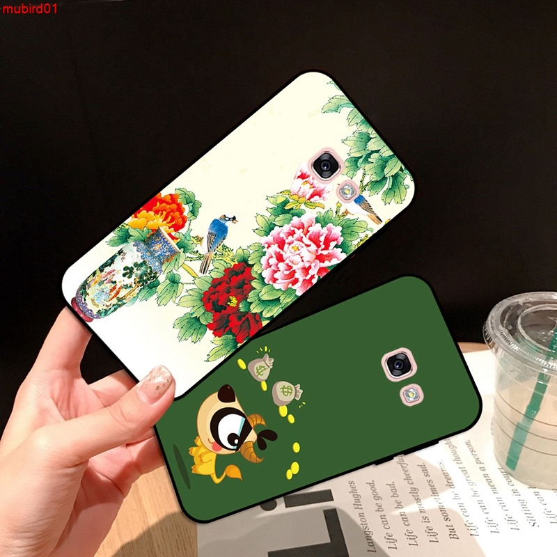 Samsung A3 A5 A6 A7 A8 A9 Pro Star Plus 2015 2016 2017 2018 LTY Pattern-3 Silicon Case Cover