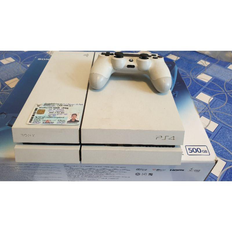 เครื่องPS4  มือ2 Playstation4 มือสอง PS4สลิม 500GB