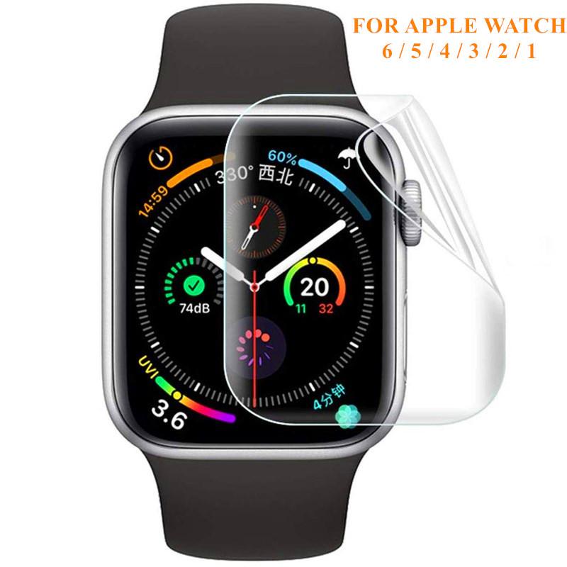 ฟิล์มกันรอยสำหรับ Apple Watch Iwatch 6 5 4 40 มม. 44 ไม่ใช่กระจกนิรภัยสำหรับ Apple Watch 3 2 38 42 สาย Applewatch นาฬิกาเด็กผู้หญิง นาฬิกาสมาร์ทวอทช์ Apple