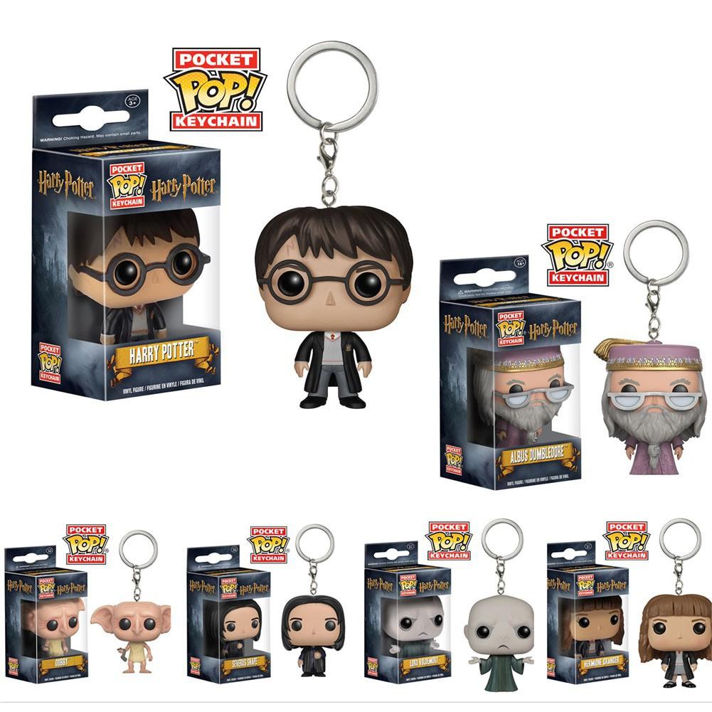 "HARRY Potter-Hermione Granger 2 /""POCKET POP KEYCHAIN VINILE Figure FUNKO"