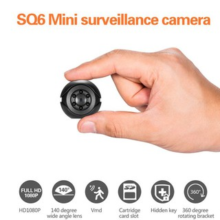 ★ กล้องวงจรปิดขนาดเล็กแบบพกพา HD 1080 P Cam