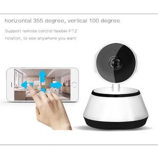 PTZ Wifi IP Camera V380 Pro 720P 1 ล้านพิกเซล กล้องวงจรปิดไร้สาย หันได้รอบทิศทาง
