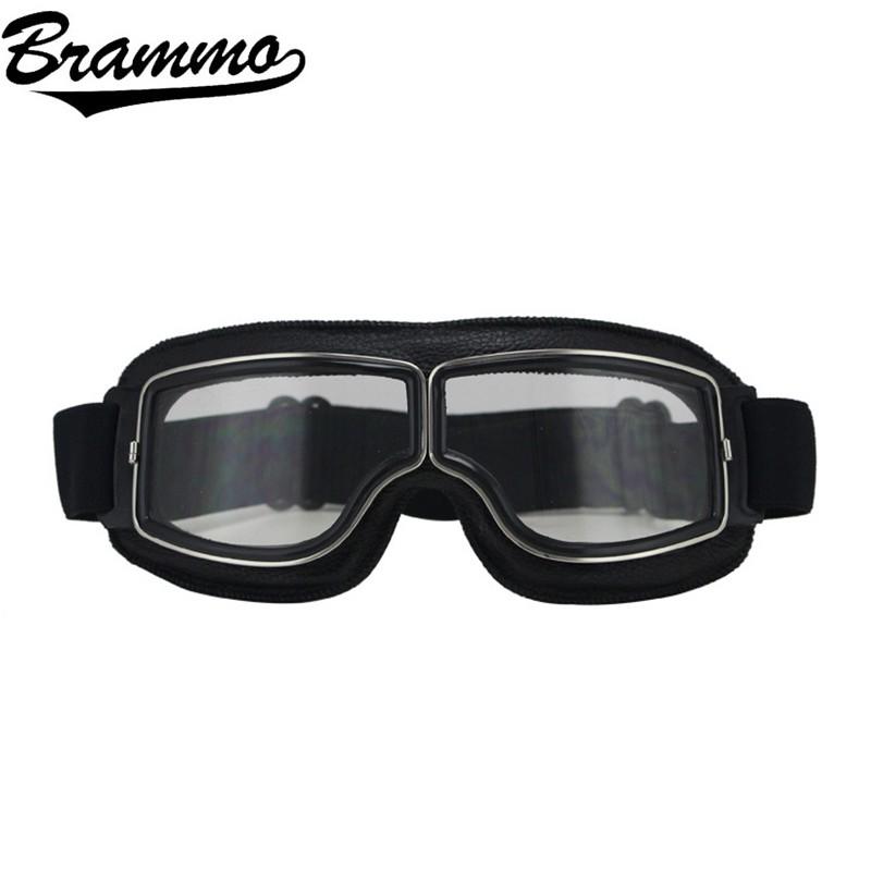 BRAMMO motorcycle goggles หมวกกันน็อครถจักรยานยนต์แว่นตากันแดด, ป้องกันรังสีอัลตราไวโอเลตและป้องกันฝุ่น