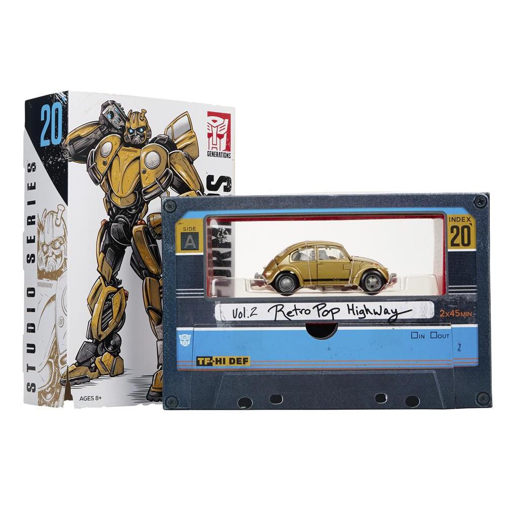 2 Retro Pop Highway Exclusive Transformers Studio Series 20 Bumblebee Vol