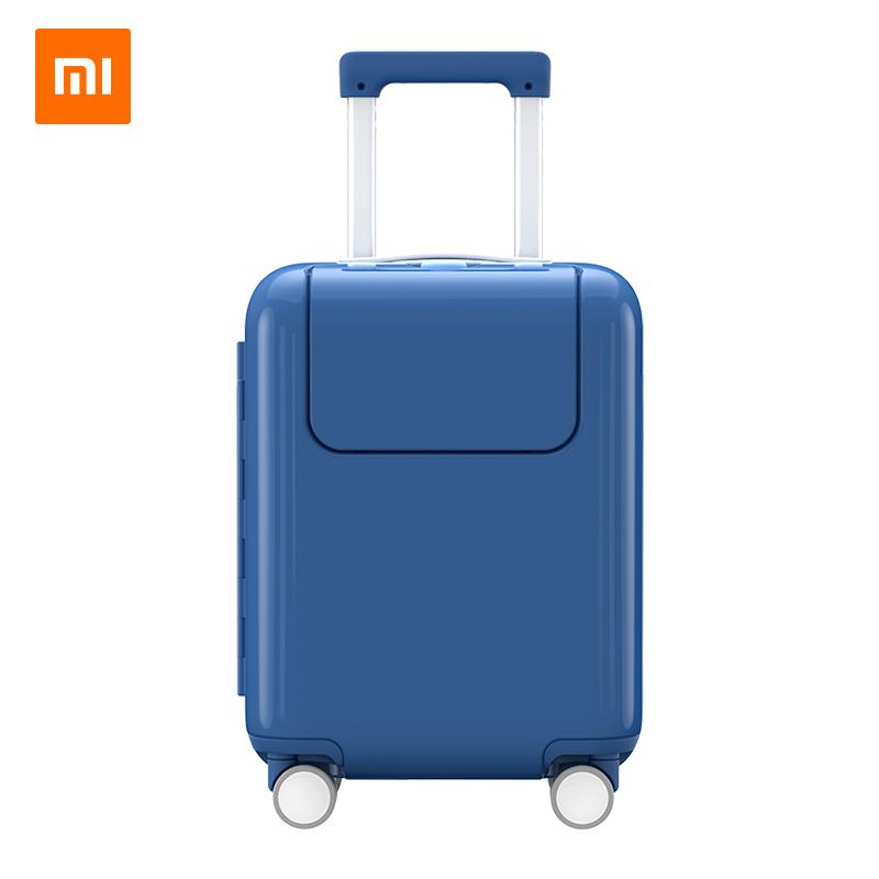 ☮☓กรณีรถเข็น กระเป๋าเดินทางล้อลากใบเล็กXiaomi Miกระต่ายกรณีรถเข็น17นิ้วล้อสากลกระเป๋าเดินทางขนาดเล็กเด็กผู้หญิงรถเข็นกระ