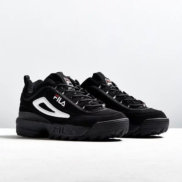 FILA Disruptor II รองเท้าวิ่งสีดำ
