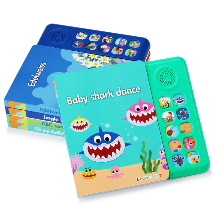 ❤Music Book Kids Song Books Children's Song Books Early Childhood Education Baby Click Song Books yL29