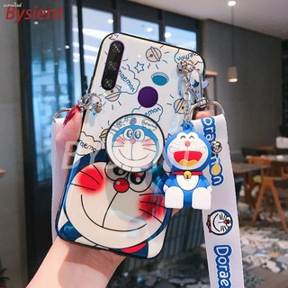 Review เคสโทรศัพท์  Huawei Y6P 2020 Cute Doraemon Cartoon Pattern Casing HuaweiY6P Cover shell