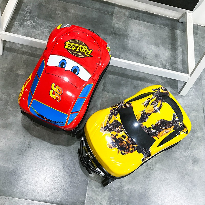〃✍กระเป๋าเดินทางเด็ก  กระเป๋ารถเข็นเดินทางกระเป๋าเดินทางเด็กเด็กรถเข็นของเล่น 19 นิ้วรถกระเป๋าเดินทางกระเป๋าเดินทางมัลติ