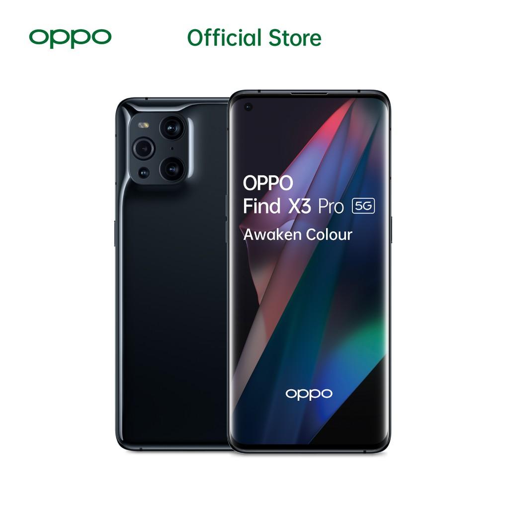 OPPO Find X3 Pro 5G 12/256GB [50MP Quad Camera, 60x Zoom Microlense, 65W SuperVOOC]