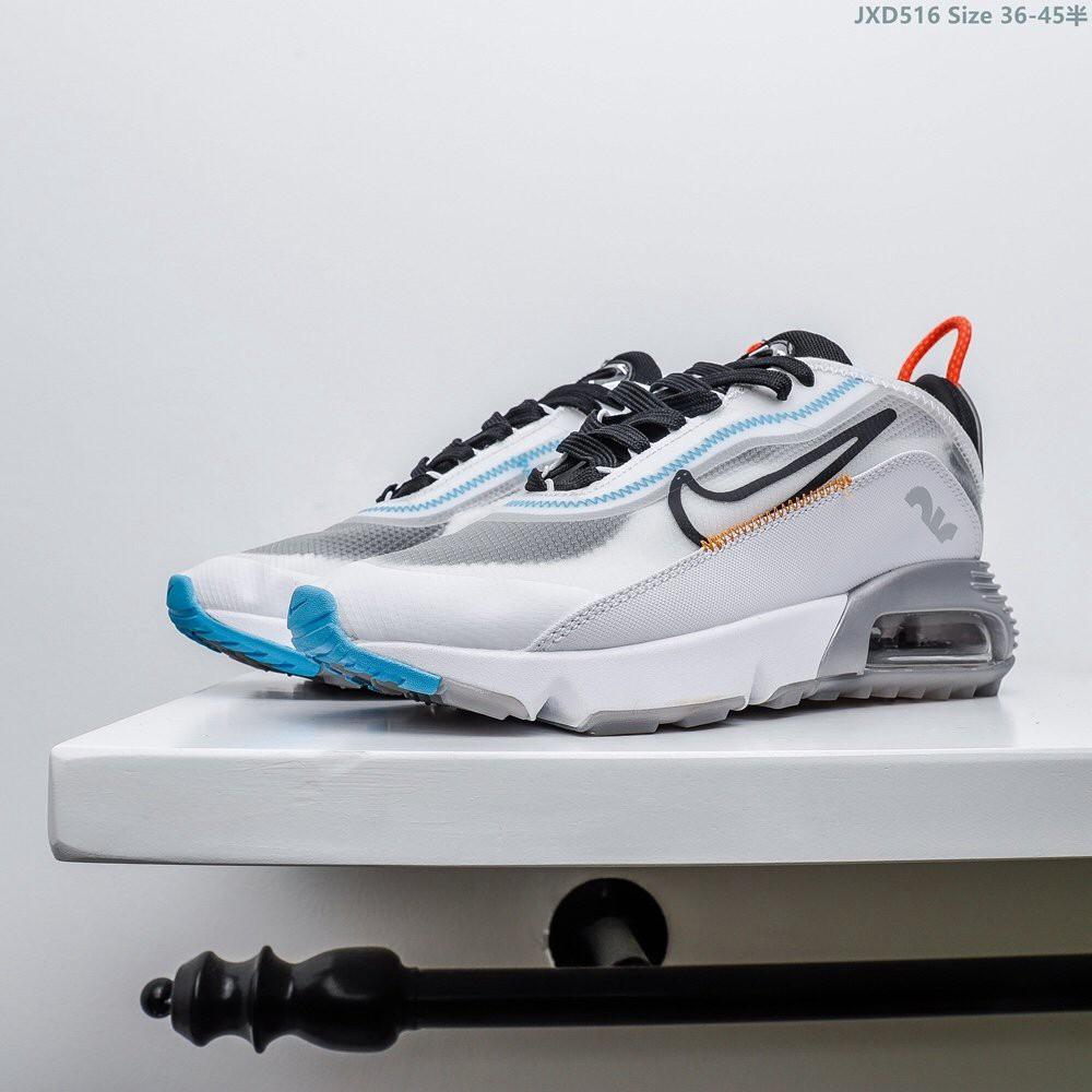 Nike Air Max 2090 ในช่วงฤดูหนาวใหม่แฟชั่นสบายเบาะรองเท้าวิ่งมะนาว