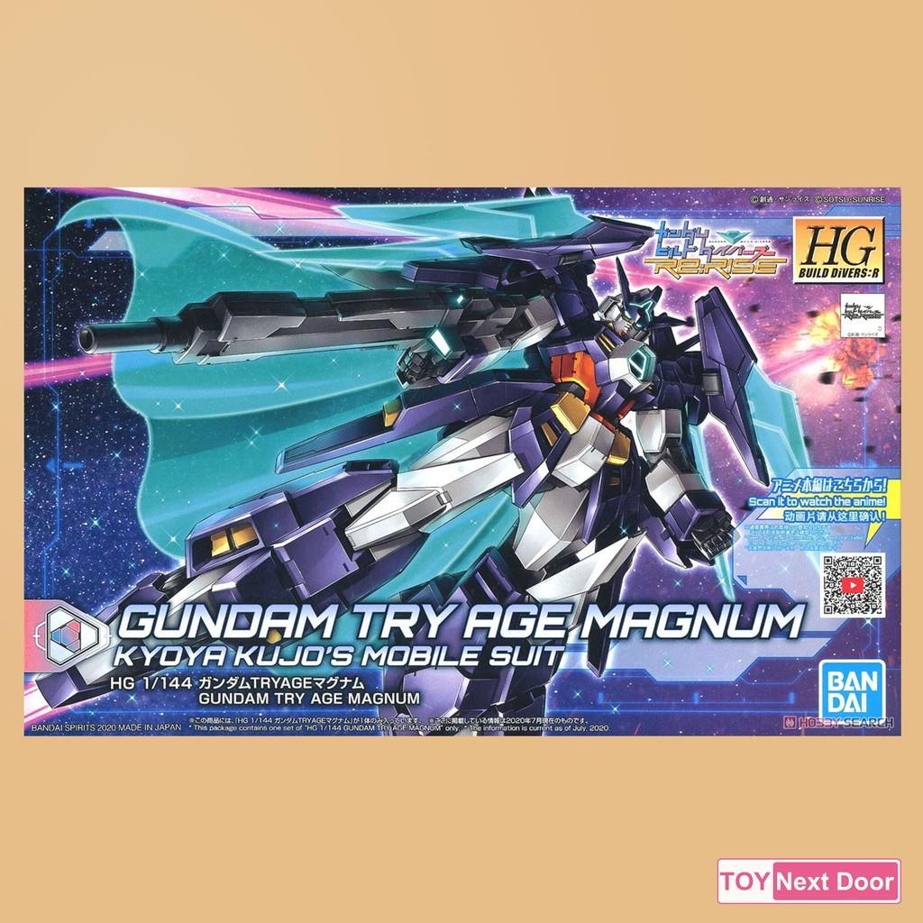 [Bandai] HG 1/144 Gundam Try Age Magnum