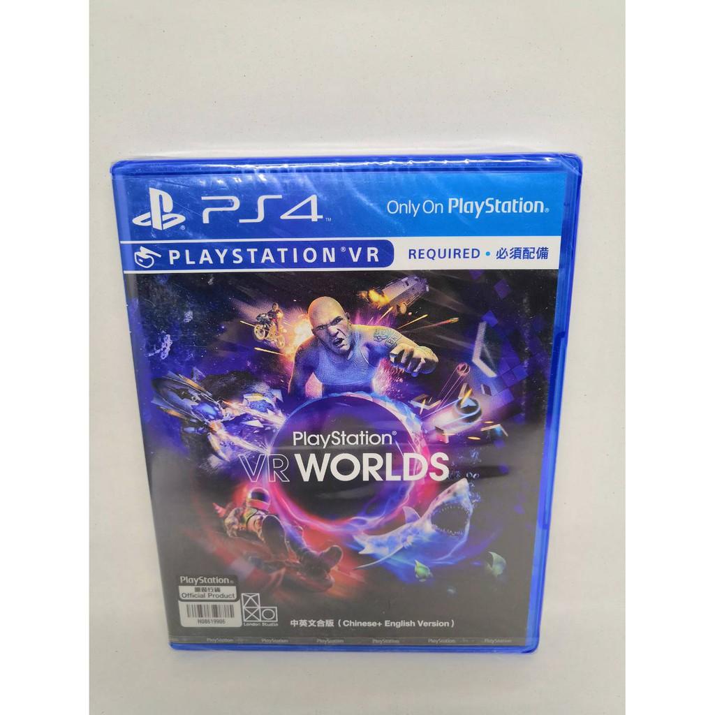 PS4 แผ่นเกมส์ VR-WORLD