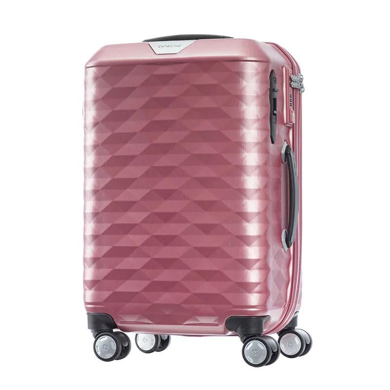 "SAMSONITE (SIZE20""มี3สี) กระเป๋าเดินทางล้อลาก มีระบบล็อกล้อ รุ่น POLYGON SPINNER 55/20 ขนาด 20 นิ้ว"