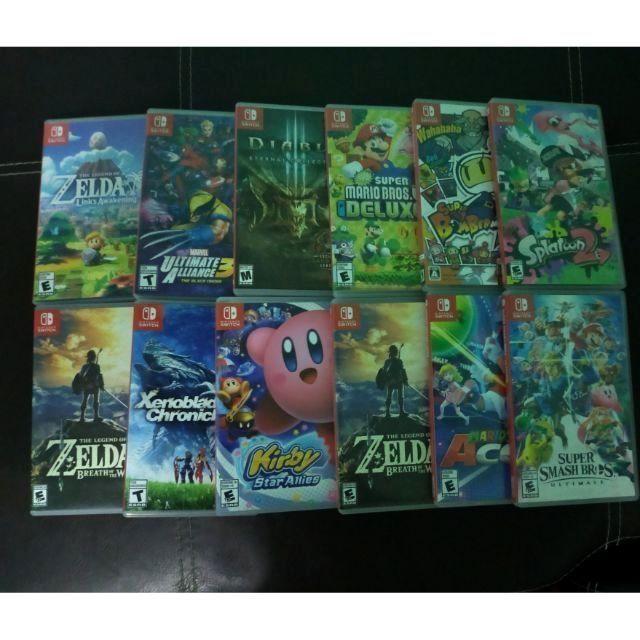 แผ่นเกมส์ NintendoSwitch มือสอง (สภาพดี)