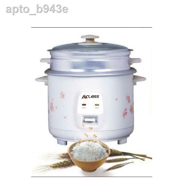 สว่านไร้สาย☒❉๑ACLASS หม้อหุงข้าว 1.8 ลิตร รุ่น RC-1803พร้อมซึงนึ่งอาหาร คละสี