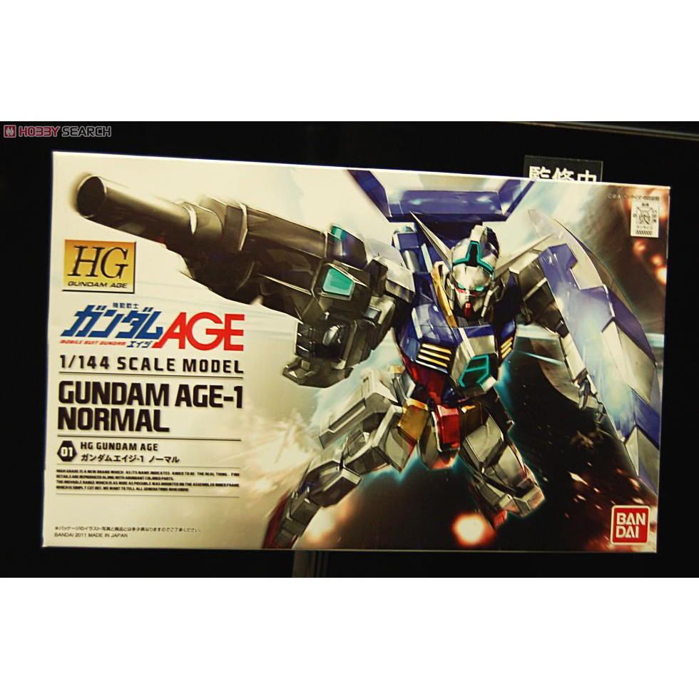 HG Gundam AGE-1 Normal (AGE) BANDAI 4573102582706
