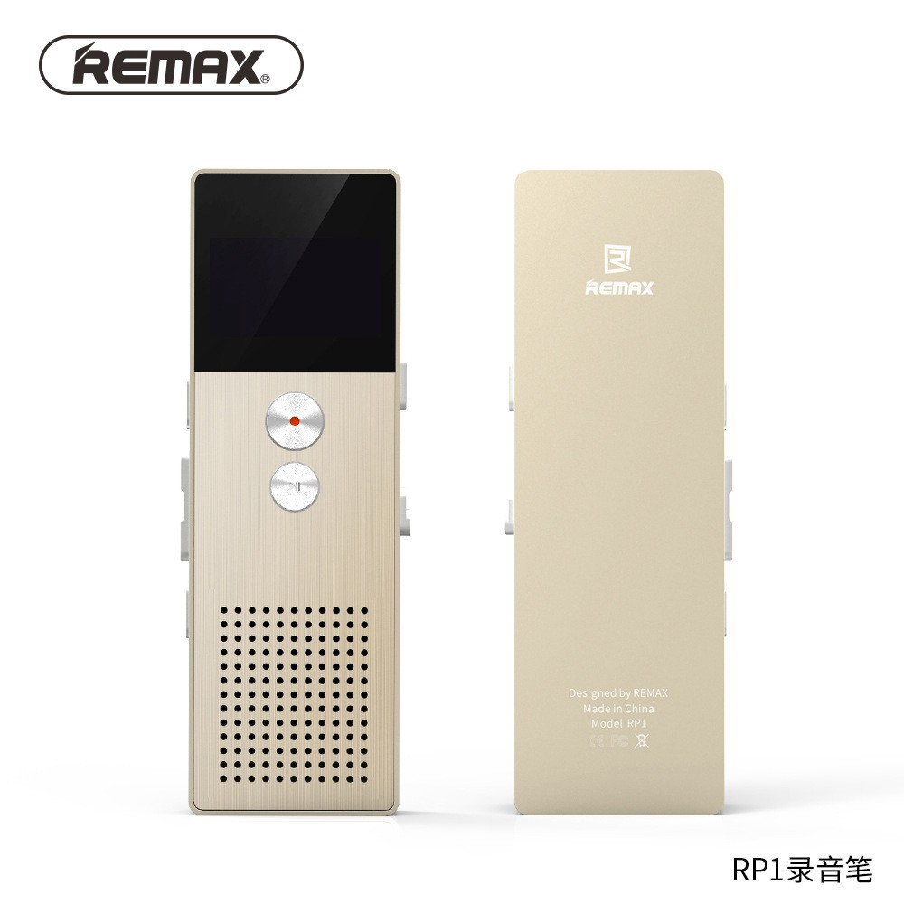 Remax RP1 เครื่องบันทึกเสียง Voice Recorder 8GB