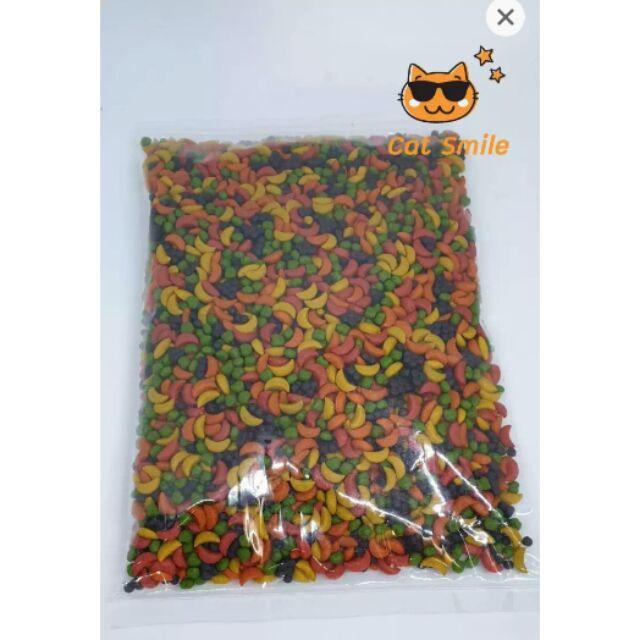 Bird Boost ~ อาหารนกแก้ว ผลไม้อัดเม็ด นิวทรีชั่น optimum nutrition formula แบ่งขาย 500 กรัม นกคอนัวร์ สมาร์ทฮาร์ท ช่วยระ