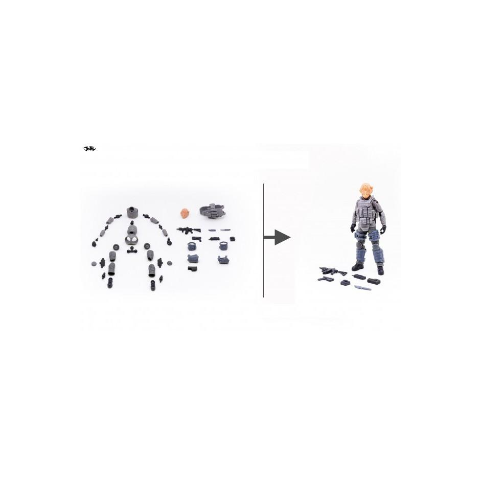 1/18 Figure - Joy Toy - mold color figure kit (C) kYmh