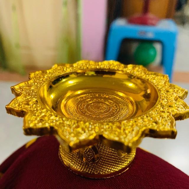 For Shop อุปกรณ์เก็บของ พานทอง พานเงิน พานจิ๋ว ราคาถูกที่สุด 16 บาท สีทอง/สีเงิน พร้อมส่งค่ะ จัดเก็บ