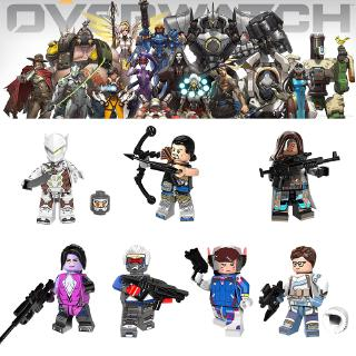 Review Blizzard Overwatch Game Peripherals Building block toy figure Lego compatible