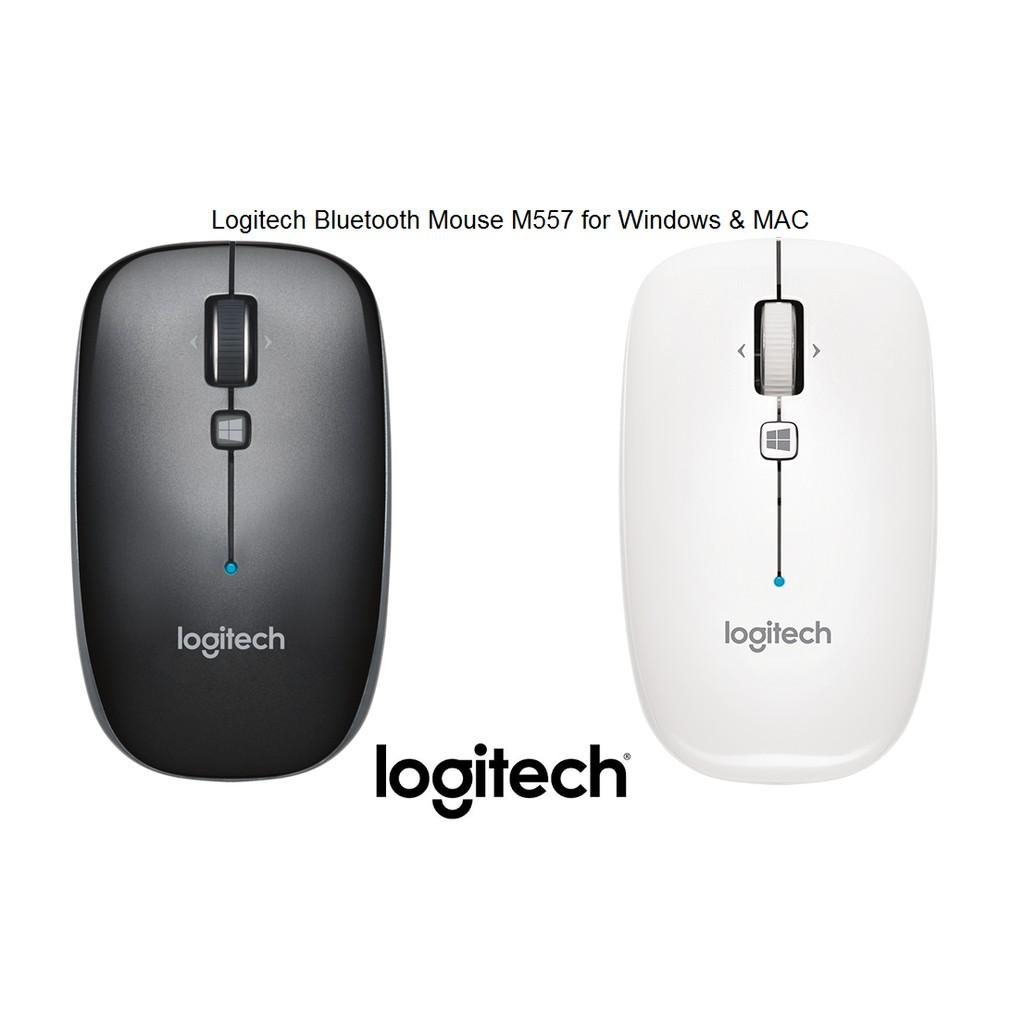Logitech Bluetooth Mouse รุ่น M557 เม้าส์ไร้สาย บลูทูธ - สำหรับ Windows และ  MAC