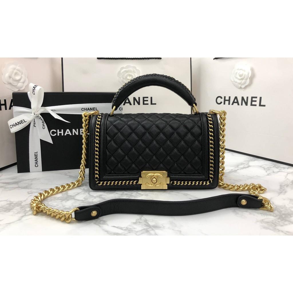 Chanel Boy Handle 10 GHW