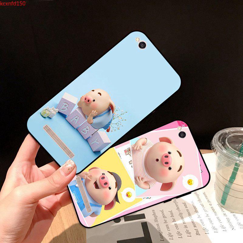Samsung A3 A5 A6 A7 A8 A9 Pro Star Plus 2015 2016 2017 2018 Baby Pig Silicon Case Cover