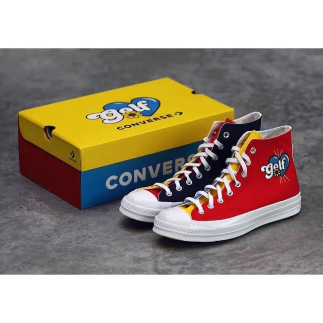 Converse Chuck Taylor All Star 70s Hi Golf Wang Tripanel