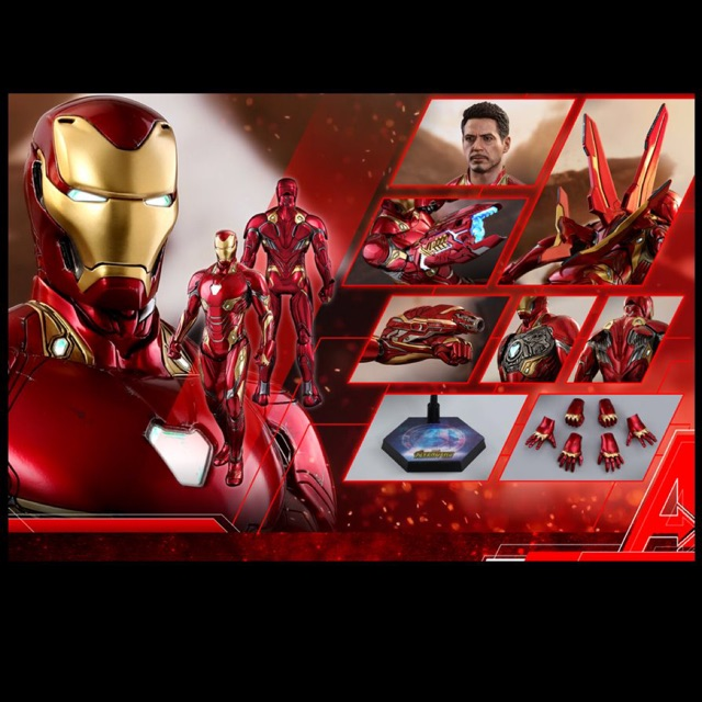 Hot toys iron man mk50 1/6 New