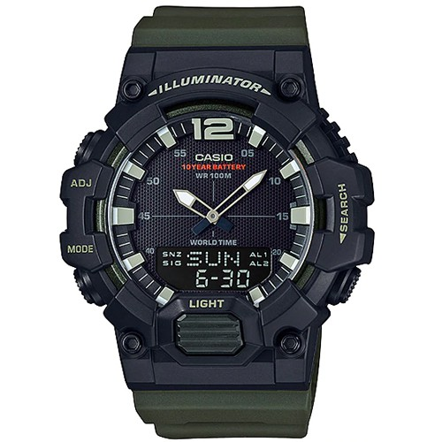 CASIO นาฬิกาข้อมือ รุ่น HDC-700-3AVDF