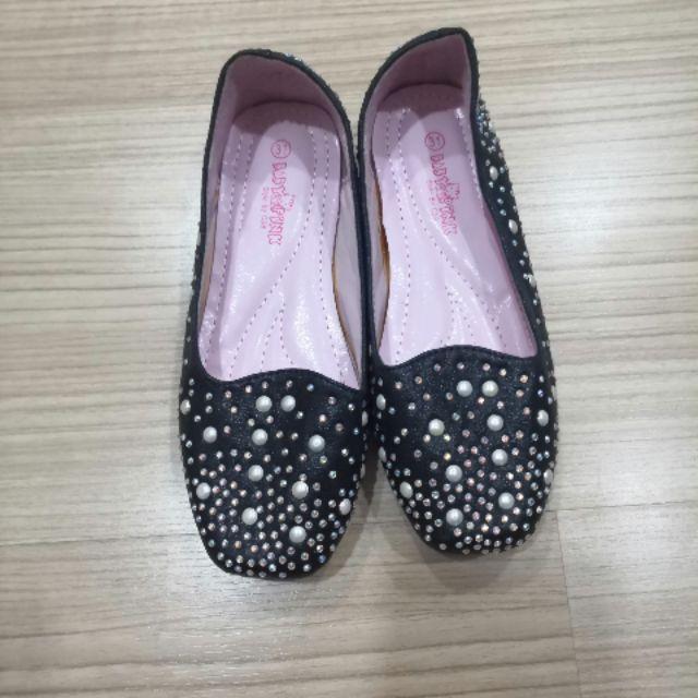 รองเท้าคัชชูเด็ก สีดำ
