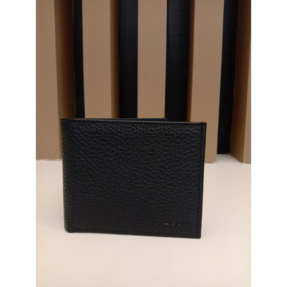 กระเป๋าสตางค์ DEVY รุ่นขรุขระสีดำ