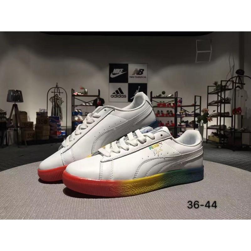 free shipping fbca7 f876d Find Price รองเท้าผ้าใบ IT Puma / PUMA Clyde PRIDE neutral ...