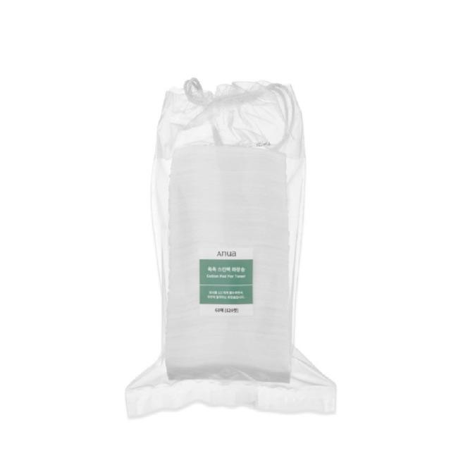 ✨พร้อมส่ง✨| Anua Cotton Pad For Toner 1 ซอง - สำลีเอนัว 120 แผ่น ใช้คู่กับโทนเนอร์พี่จุน