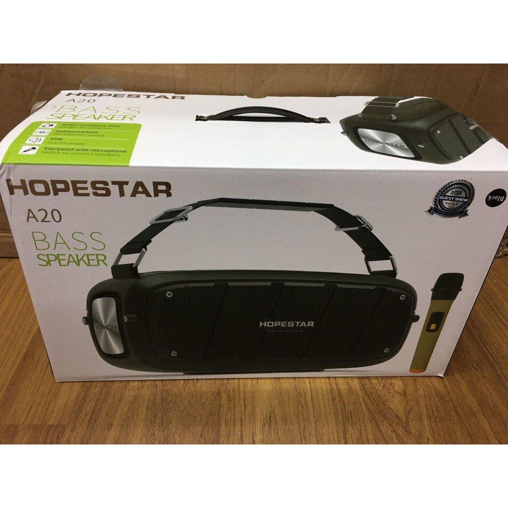 DnAc Hopestar A20 Pro ลำโพงปาร์ตี้คาราโอเกะบลูทูธ แถมไมค์1ดัวด้วย
