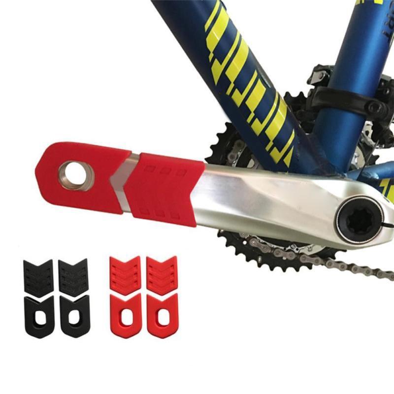 Silicone Bike Crank Arm Cap Cover Protector MTB Bicycle Crankset Arm Boots
