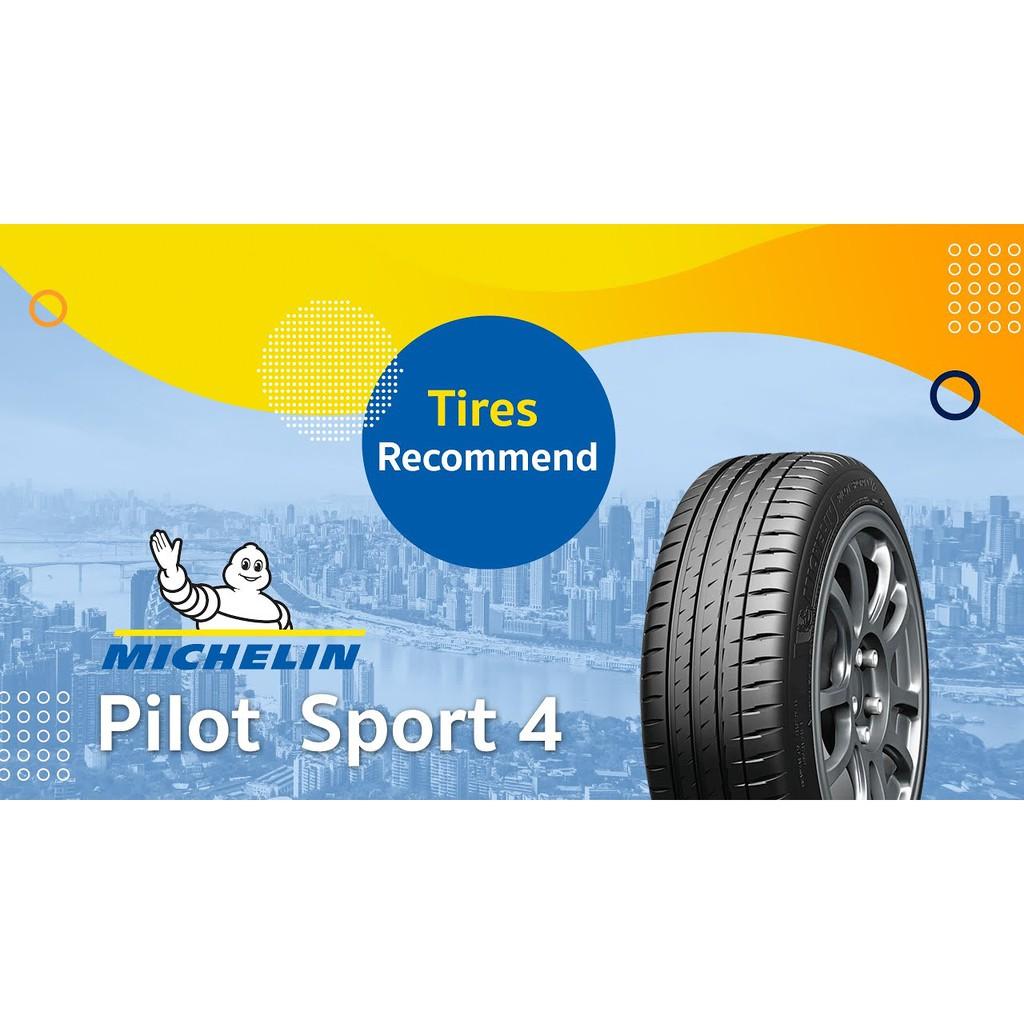 215/50R17 michelin Pilot Sport 4  จำนวน 4 เส้นราคารวมติดตั้งยางปี 2020