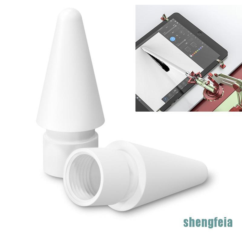 [shengfeia] อะไหล่หัวเปลี่ยนสําหรับ Apple Pencil 1st 2nd Generation Tip Spare