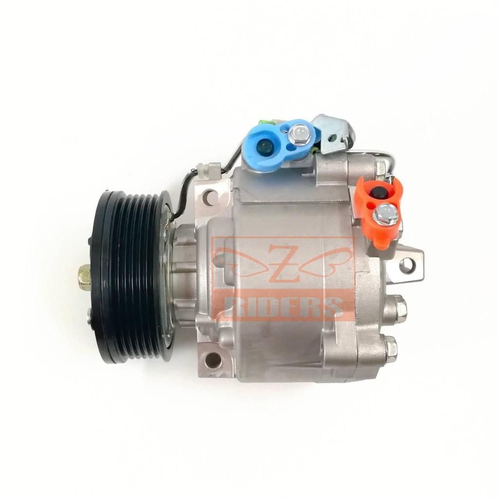 คอมแอร์ Mitsubishi Lancer EX คอมเพรสเซอร์ แอร์ มิตซูบิชิ แลนเซอร์ อีเอ็กซ์ คอมแอร์รถยนต์ มิตซู ไททัน Compressor (P)