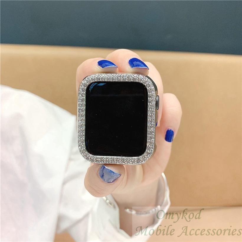 เคสนาฬิกาข้อมือสีรุ้งสําหรับ apple watch 38 มม. 42 มม. 40 มม. 44 มม. band pc iwatch series 5 4 3 2