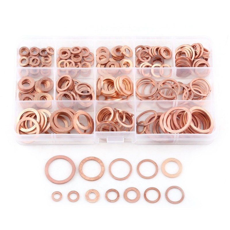 FULL NUT /& FLAT WASHER KIT 255 ASSORTED A2 STAINLESS STEEL M4 M5 M6 LOCKING