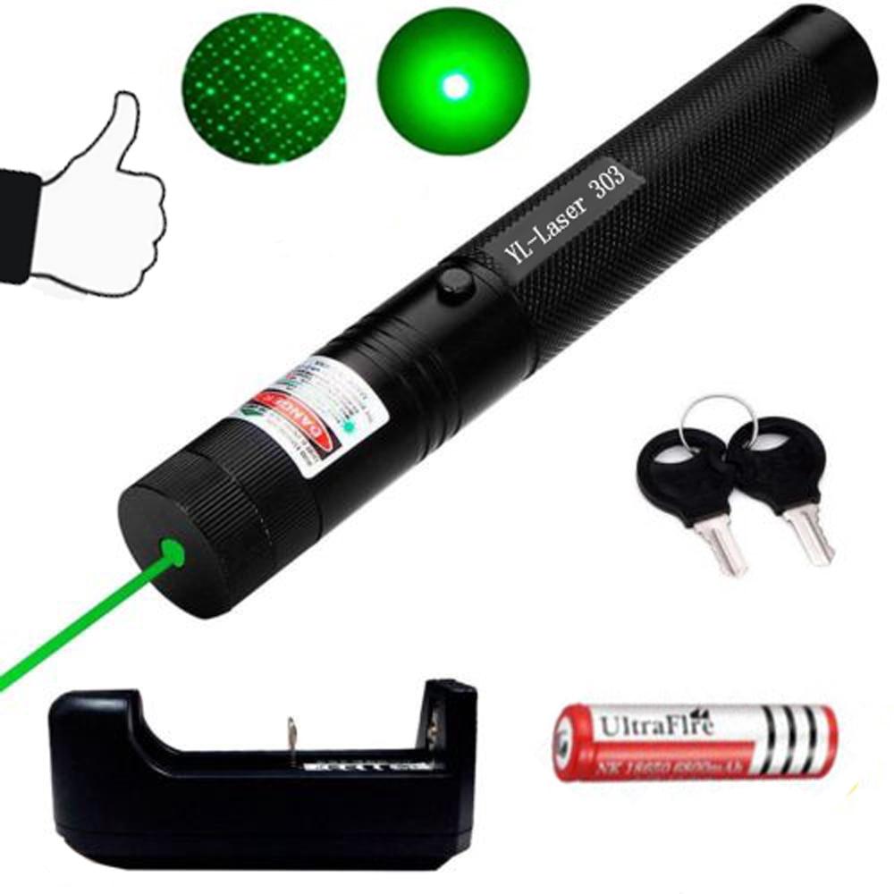 G&M เลเซอร์แสงเขียว เลเซอร์ชาร์จไฟ เลเซอร์303 เลเซอร์แรงสูงแสงเขียว  เครื่องชาร์จ